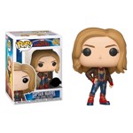 Marvel - Captain Marvel - Captain Marvel with Flight Jacket Pop! Vinyl Figure - Packshot 1