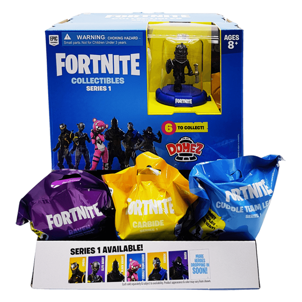 Fortnite Domez Blind Bag Series 1 (Single Bag) - Packshot 1
