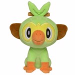 "Pokemon - Grookey 8"" Plush - Packshot 1"