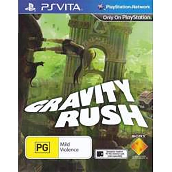 Gravity Rush - Packshot 1