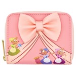 Disney - Cinderella Peek-a-boo Mice Loungefly Zip-Around Wallet