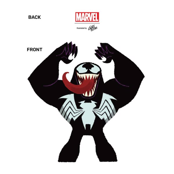 Marvel - Venom GuriHuru T-Shirt - XL - Packshot 2
