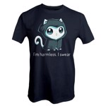 Grim Kitty Glow in The Dark T-Shirt - L - Packshot 1