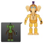 Five Nights at Freddy's Pizza Simulator - Orville Elephant Glow Action Figure - Packshot 1