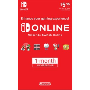 Nintendo Switch Online 1 Month Membership