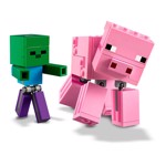 Minecraft - LEGO BigFig Pig with Baby Zombie - Packshot 4