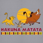 Disney - The Lion King - Hakuna Matata T-Shirt - Packshot 2