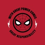 Marvel - Spider-Man Great Power T-Shirt - Packshot 2