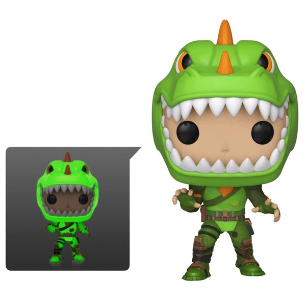 Fortnite - Rex Glow Pop! Vinyl Figure - Packshot 1