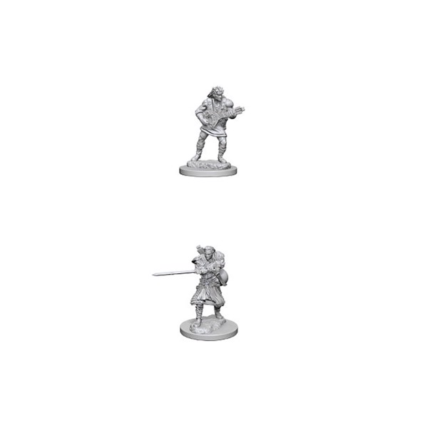 Dungeons & Dragons - Nolzur's Marvelous Miniatures - Human Male Bard - Packshot 1