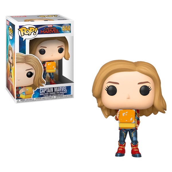 Marvel - Captain Marvel - Captain Marvel with Tesseract Pop! Vinyl Figure - Packshot 1