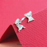 Disney - Moana & Pua Short Story Silver Stud Earrings - Packshot 2