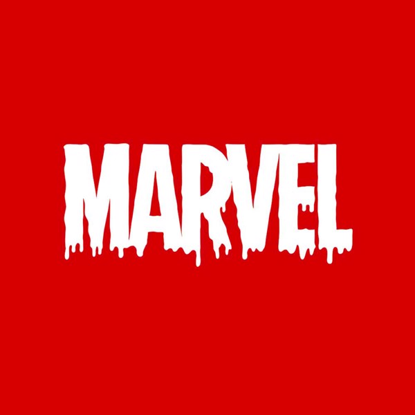 Marvel - Melting Logo T-Shirt - M - Packshot 2