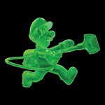 Nintendo - Luigi's Mansion 3 Gooigi Glow In The Dark T-Shirt - Black - M - Packshot 3