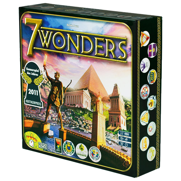 7 Wonders Board Game - Packshot 1