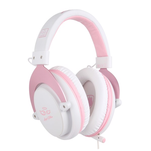 SADES M-Power Gaming Headset (Pink) - Packshot 3