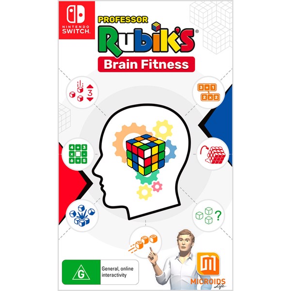 Professor Rubik's Brain Fitness - Packshot 1