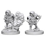 Dungeons & Dragons - Nolzur's Marvelous Miniatures - Halfling Male Rogue - Packshot 1