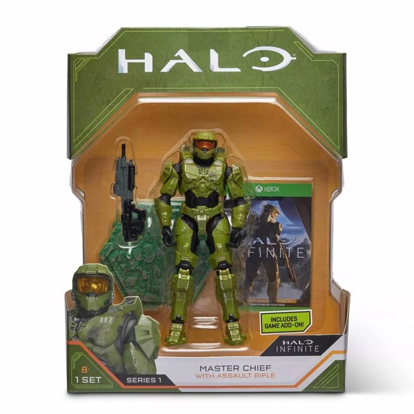 "Halo Infinite - World Of Halo Master Chief 6"" Action Figure - Packshot 5"