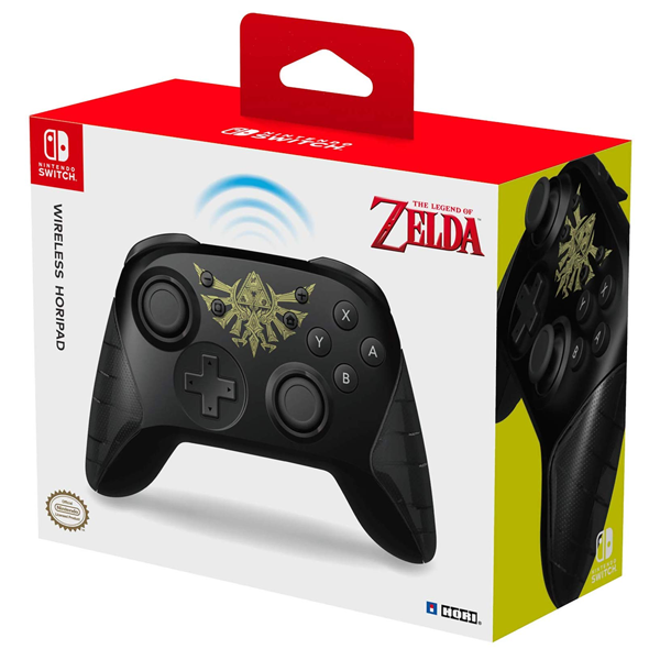 Nintendo Switch HORI Zelda Edition Wireless Rechargeable Controller - Packshot 4