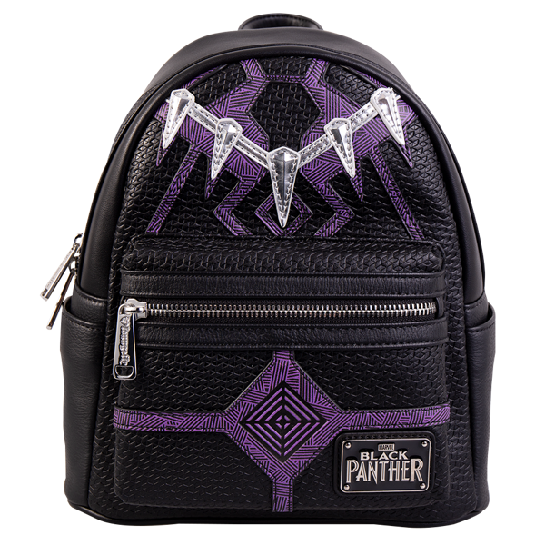 1743266732 Marvel - Black Panther Loungefly Mini Backpack - ZiNG Pop Culture