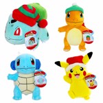 "Pokemon - Holiday Starter Pokemon 8"" Plush (Assorted) - Packshot 1"