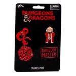 Dungeons & Dragons - Set of 4 Lapel Pin - Packshot 1