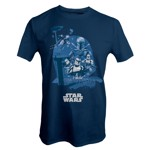 Star Wars - Bounty Hunter Collage T-Shirt - Packshot 1