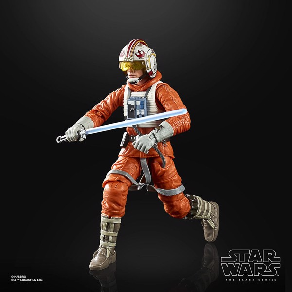 Star Wars - Episode V - The Black Series Luke Skywalker (Snowspeeder) Figure - Packshot 4
