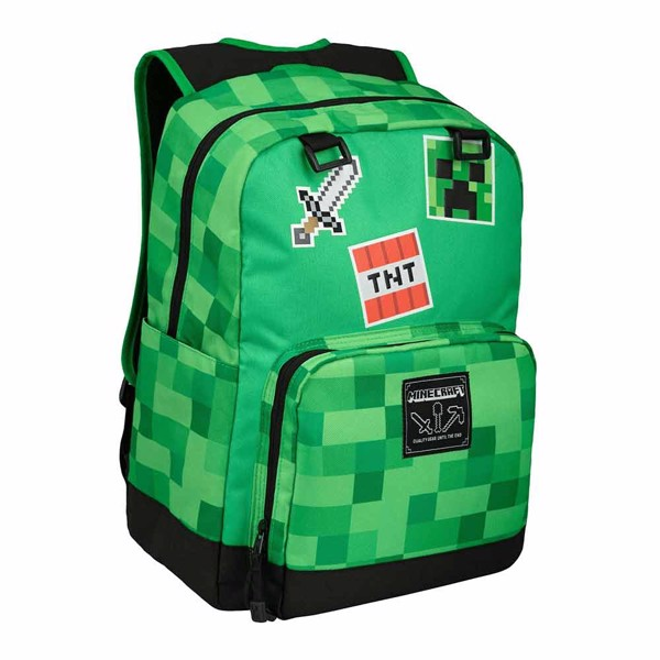 Minecraft - Survivalist Badges Backpack - Packshot 1