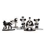 Disney - Mickey Mouse - 90th Anniversary Nano Metalfigs Mini­Figure (5­Pack) - Packshot 2