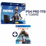 PlayStation 4 Pro 1TB Fortnite Neo Versa Console + 1 Game - Packshot 1
