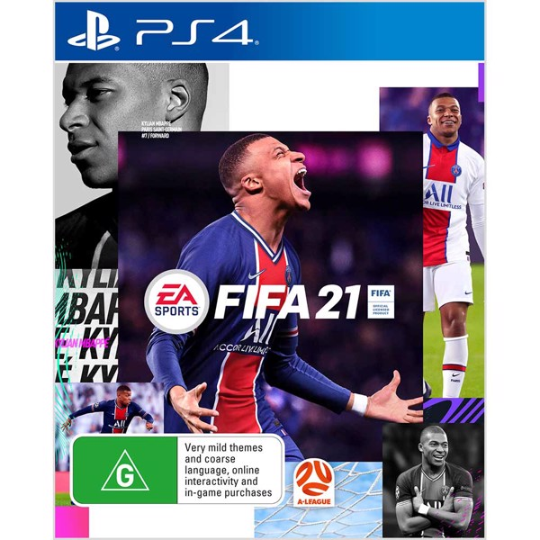 New PlayStation 4 DualShock 4 FIFA 21 Wireless Controller - Packshot 3