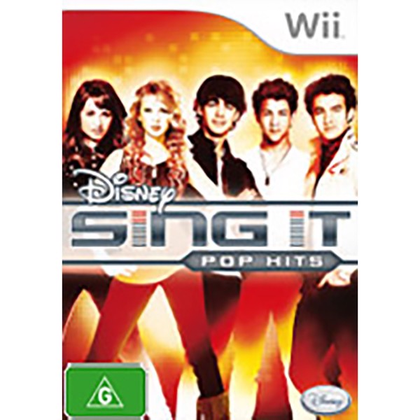 Disney Sing It: Pop Hits - Standalone - Packshot 1