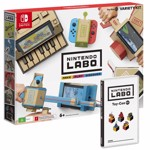 Nintendo Switch Grey Console + LABO Variety Kit - Packshot 3