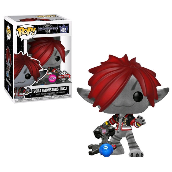 Kingdom Hearts III - Sora Monster's Inc. Flocked Pop! Vinyl Figure - Packshot 1