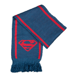 DC Comics - Superman Blue Scarf - Packshot 1