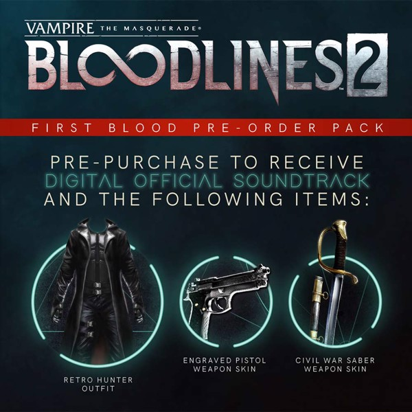 Vampire: The Masquerade - Bloodlines 2 Unsanctioned Edition - Packshot 3