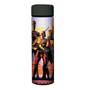 Star Wars - The Empire Strikes Back - 40th anniversary Bounty Hunter Steel Water Bottle