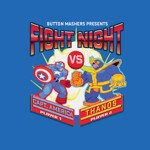 Marvel - Marvel 80th Anniversary - Marvel Fight Night Blue T-Shirt - XXL - Packshot 2