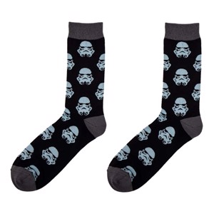 Star Wars - Storm Trooper Glow in the Dark Socks