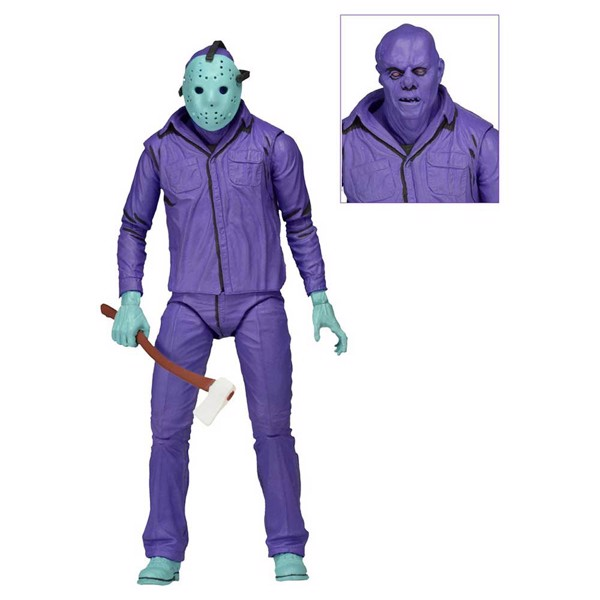 "Friday the 13th - 7"" Jason Video Game Figure - Packshot 3"