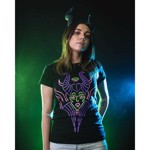 Disney - Sleeping Beauty - Maleficent Glitter T-Shirt - Packshot 4