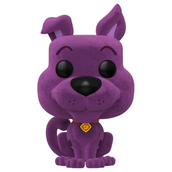 Scooby-Doo - Scooby-Doo Purple Flocked Pop! Vinyl Figure - Packshot 1