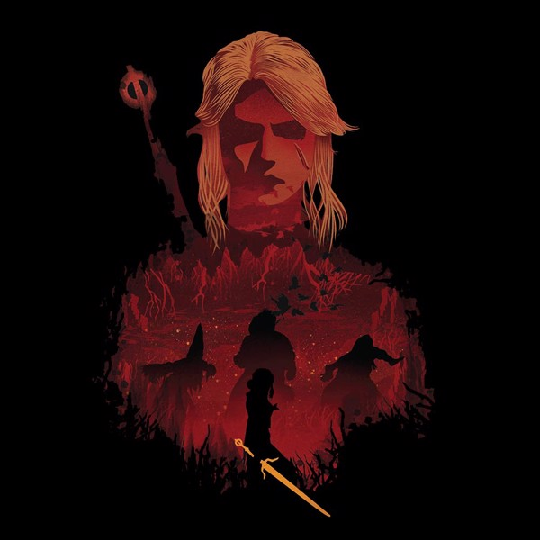 The Witcher - Ciri and Crones T-Shirt - L - Packshot 2