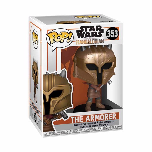 Star Wars - The Mandalorian - The Armorer Metallic Pop! Vinyl Figure - Packshot 2