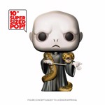 "Harry Potter - Voldemort with Nagini 10"" Pop! Vinyl Figure - Packshot 1"