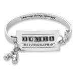 Disney - Dumbo Circus Ticket White Gold Bracelet - Packshot 1