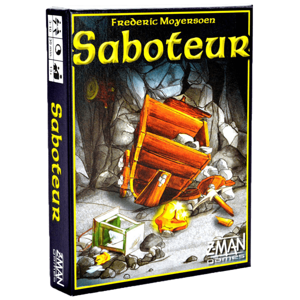 Saboteur - Card Game - Packshot 2