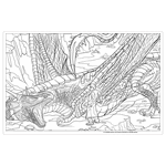 Harry Potter - Magical Creatures Colouring Book - Packshot 4